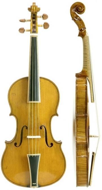 バロックヴァイオリン(装飾入り...